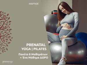 Read more about the article PRENATAL YOGA / PILATES
